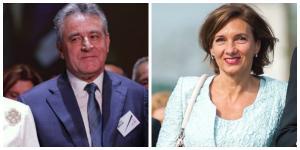 Povestile de viata ale sotilor candidatilor la presedintie: Carmen Iohannis vs. Cristinel Dancila