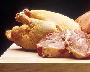 ANPC a identificat 115 tone de carne cu abateri de la norma