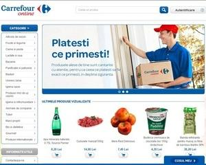 S-a deschis Carrefour varianta on-line