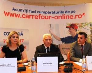 Estimare Carrefour Romania: Piata magazinelor online pentru produse alimentare, peste 1% din total retail online in maximum doi ani