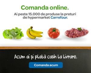 Carrefour Online introduce plata cash la livrarea comenzii