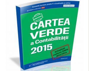 Cartea Verde a Contabilitatii. Tot ce trebuie sa stii despre contabilitate!