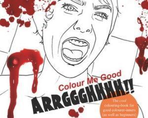 """Eroare la Tesco: Carti de colorat """"horror"""", vandute celor mici"""