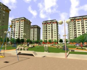 6 cartiere de locuinte pentru tineri vor fi construite in Capitala