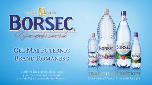 Borsec, cel mai puternic brand romanesc