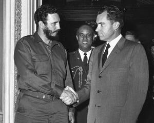 15 aprilie 1959: Fidel Castro viziteaza Statele Unite