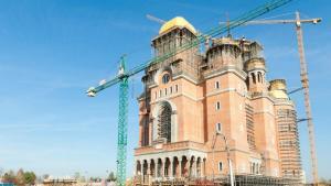 Sfintirea Catedralei Mantuirii Neamului se face