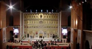 Catedrala Neamului a fost sfintita. Credinciosii pot intra in altar pana joi