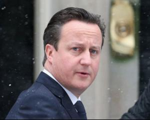 Ce spune premierul britanic David Cameron despre o interventie militara in Irak