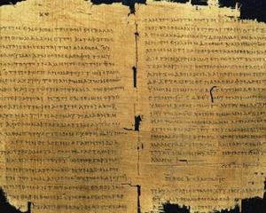 Cel mai vechi pergament biblic despre Moise, descoperit in Italia