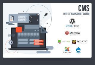 Cele mai populare CMS-uri care ajuta in crearea unui website