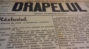 Centenarul Marii Uniri: Astazi, acum 100 de ani. Cum se vedea Romania in presa de acum un veac (III)