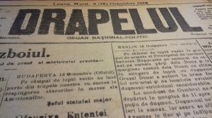 Centenarul Marii Uniri: Astazi, acum 100 de ani. Cum se vedea Romania in presa de acum un veac (XII)