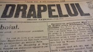 Centenarul Marii Uniri: Astazi, acum 100 de ani. Cum se vedea Romania in presa de acum un veac (XVI)