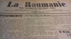 Centenarul Marii Uniri: Astazi, acum 100 de ani. Cum se vedea Romania in presa de acum un veac (XVII)