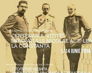 Consonante istorice ruso-romane: Centenarul vizitei imparatului Nicolae al II-lea la Constanta