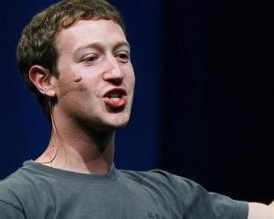 CEO-ul Facebook, Mark Zuckerberg, a fost actionat in instanta de un antreprenor roman