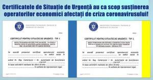 Call center pentru cei care vor sa obtina Certificatele de Situatie de Urgenta
