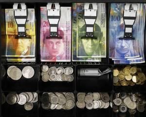 Banca Nationala a Elvetiei, marea pierzatoare din cauza aprecierii monedei proprii