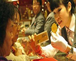 China, pe primul loc in goana dupa aur