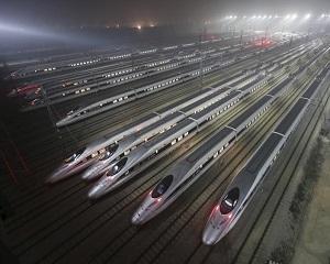 China doreste sa construiasca cai ferate pentru trenuri de mare viteza in toata lumea