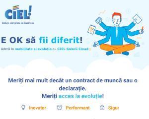 CIEL Romania a lansat platforma CIEL Salarii Cloud