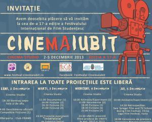 CineMAiubit se desfasoara intre 2 si 5 decembrie