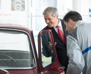 Ciolos a vizitat uzinele Dacia si a confirmat ca Autostrada Pitesti - Sibiu ramane prioritara...
