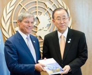 Dacian Ciolos participa la cea de-a 71-a sesiune a Adunarii Generale a ONU