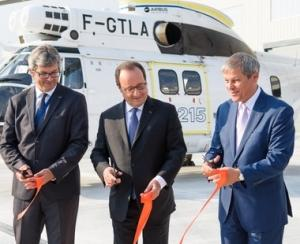 Airbus Helicopters a inaugurat fabrica de la Ghimbav