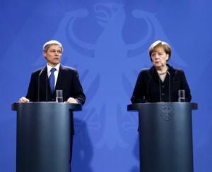 Premierul Dacian Ciolos in vizita la Berlin