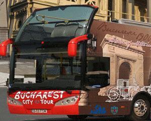De maine, RATB trage pe dreapta autobuzul turistic