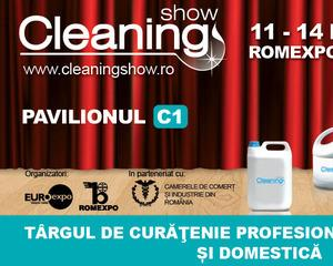 Romexpo organizeaza Cleaning Show, intre 11 si 14 iunie