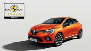 Noul Renault Clio a obtinut 5 stele la testele Euro NCAP