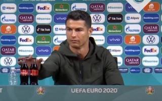 Coca-Cola a pierdut 4 miliarde de dolari in urma gestului lui Cristiano Ronaldo de a indeparta doua sticle din fata sa