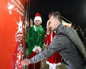 Caravana Coca-Cola da startul magiei sarbatorilor de iarna in 5 orase din tara