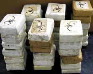 DIICOT  30 kg de cocaina confiscate  Aveau o valoare de 3 milioane de euro