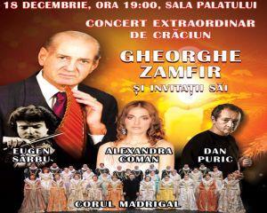Gheorghe Zamfir sustine un concert la Sala Palatului pe 18 decembrie