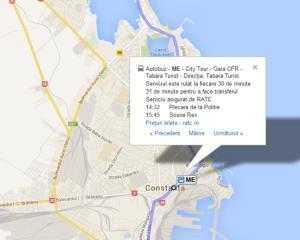 Google Maps ofera informatii despre transportul public din 7 orase romanesti