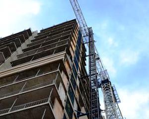 Romania, cea mai mare scadere a lucrarilor de constructii din UE