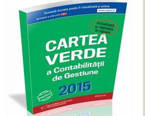 Cartea Verde a Contabilitatii de Gestiune 2015. Teorie, lege, solutii practice