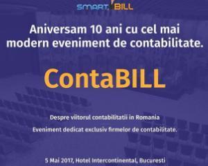 ContaBILL: eveniment dedicat contabililor romani - 5 mai, Bucuresti