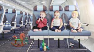 Cererea pentru zboruri impreuna cu copiii castiga altitudine. Plus 30%, in ultimii ani