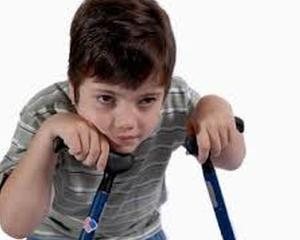 Studiu in premiera: 21.000 de copii romani, afectati de paralizie cerebrala