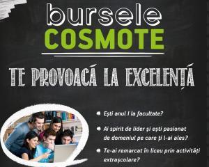 """""""Bursele Cosmote"""", la cel de-al patrulea an"""