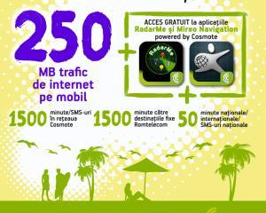 Cosmote lanseaza Travel Pack
