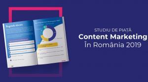 Primul studiu de piata despre content marketing - Perspectiva business-urilor romanesti asupra crearii si promovarii de continut