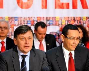 Crin Antonescu: Vom avea guvern cu Klaus Iohannis vicepremier sau nu va mai exista guvern USL