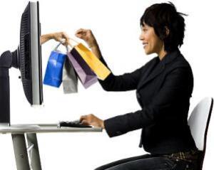 Cumparaturile online aduc reduceri de pana la 40% fata de cele din magazinele traditionale