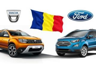 In primul trimestru din 2021, Dacia si Ford au produs 117.789 de automobile in Romania